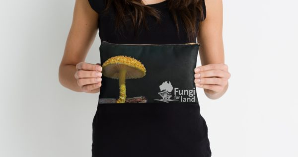 Gold Tufts case with Fungi4Land
